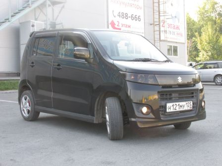 Suzuki Wagon R 2012 - отзыв владельца