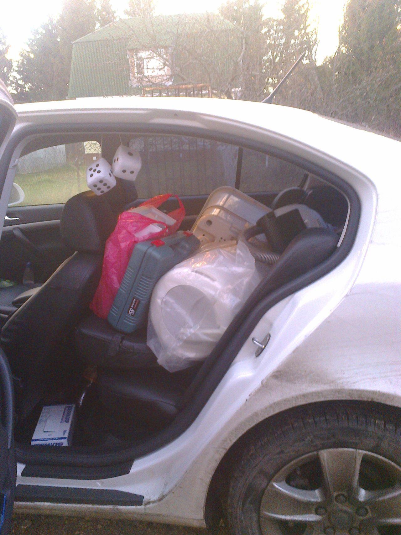 Багажник маловат((