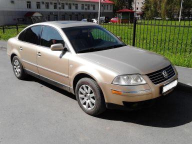 Volkswagen Passat 2002 отзыв автора | Дата публикации 06.09.2017.