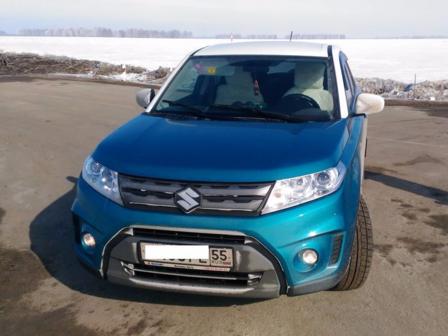 Suzuki Vitara 2016 - отзыв владельца