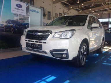 Subaru Forester 2017 отзыв автора | Дата публикации 08.09.2017.