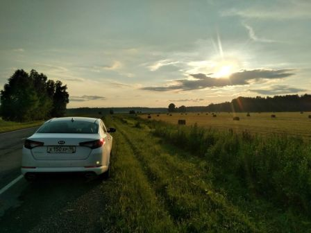 Kia Optima 2012 - отзыв владельца