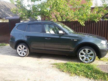 BMW X3 2005 - отзыв владельца
