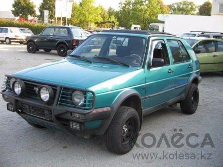 Volkswagen Country 1990 - отзыв владельца