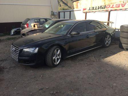Audi A8 2011 - отзыв владельца