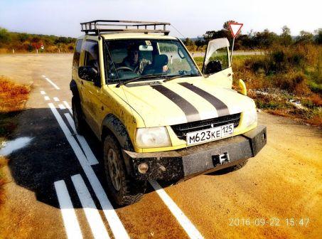 Mitsubishi Pajero Mini 2003 - отзыв владельца