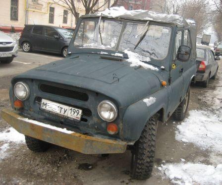 УАЗ 3151 1988 - отзыв владельца