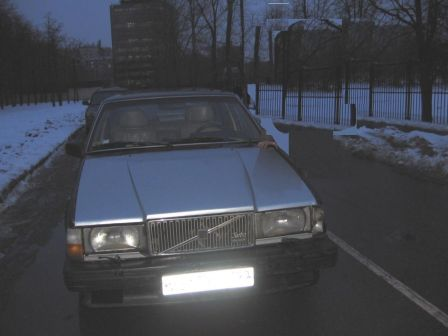 Volvo 760 1983 - отзыв владельца