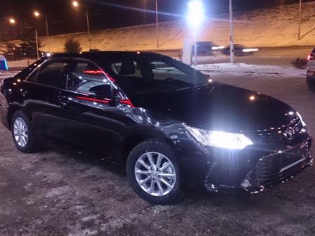 Toyota Camry 2015 - отзыв владельца