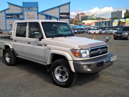 Toyota Land Cruiser 2015 - отзыв владельца