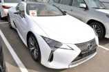 Lexus LC500. БЕЛЫЙ F SPORT МЕТАЛЛИК (083)