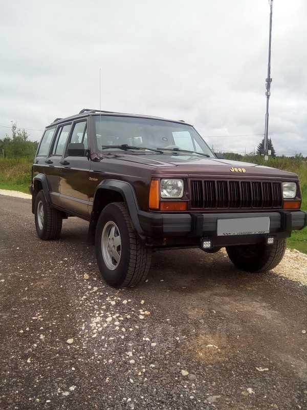 Jeep Cherokee, 1991 год, 420 000 руб.