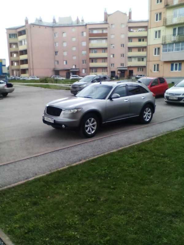 Infiniti FX35, 2003 год, 530 000 руб.
