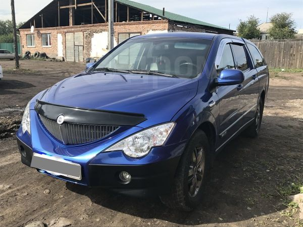 SsangYong Actyon Sports, 2010 год, 570 000 руб.