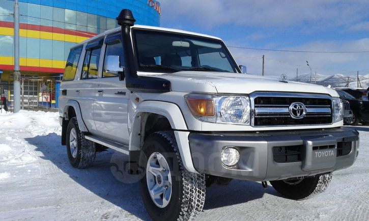 Toyota Land Cruiser, 2016 год, 4 450 000 руб.