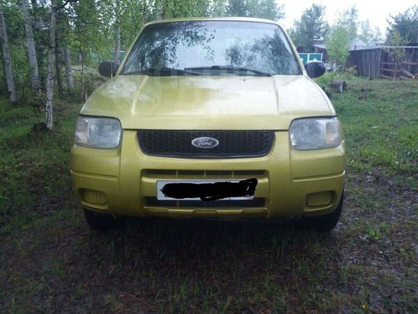 Ford Escape, 2001 год, 259 000 руб.