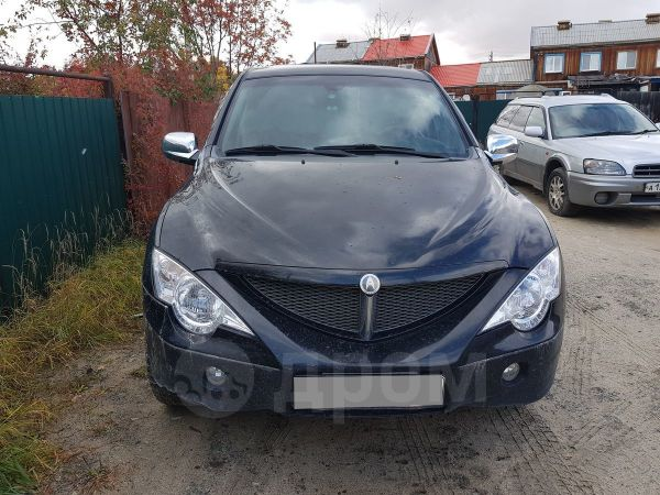 SsangYong Actyon Sports, 2009 год, 280 000 руб.