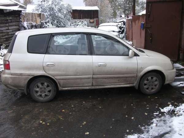 Kia Carens, 2002 год, 210 000 руб.