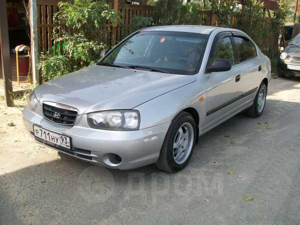 Hyundai Elantra, 2002 год, 205 000 руб.