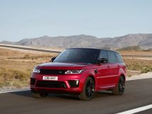 Land Rover Range Rover Sport рестайлинг 2017, джип/suv 5 дв., 2 поколение, L494