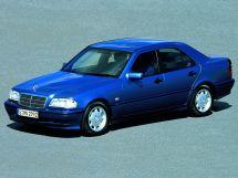 Mercedes-Benz C-Class рестайлинг 1997, седан, 1 поколение, W202