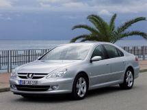 Peugeot 607 рестайлинг 2004, седан, 1 поколение