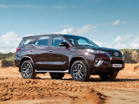 Toyota Fortuner (AN160) 07.2015 - 07.2020