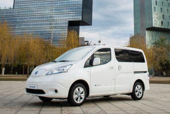 Запас хода Nissan e-NV200 с новой батареей увеличился на 100 км.