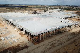 Свою первую продукцию завод выпустит в 2019 году.
