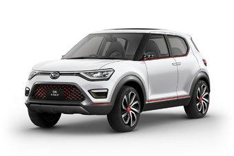 Если отбросить некоторые концептуальные детали, Daihatsu DN Trec выглядит готовым к серийному производству автомобилем.