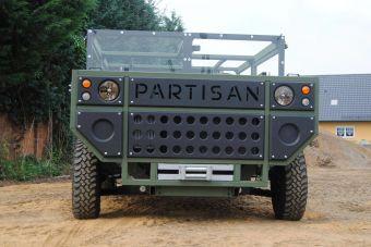 На кузов Partisan One можно навесить бронелисты.