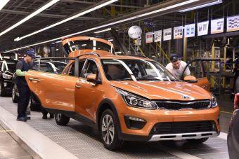 KIA Rio X-Line выпускается там же, где и исходный седан — на заводе Hyundai Motor в Петербурге.