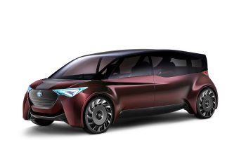 Водородный минивэн Fine-Comfort Ride — одна из множества новых разработок, которые Toyota покажет в Токио.