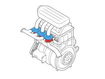 Индивидуальная турбина и дроссельная заслонка для каждого цилиндра могут вернуть моторам былую мощность, которую они растеряли на пути к уменьшению рабочего объёма и повышению экономичности.