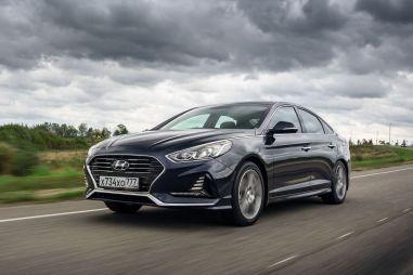Первый тест новой Hyundai Sonata. Соната ля мажор
