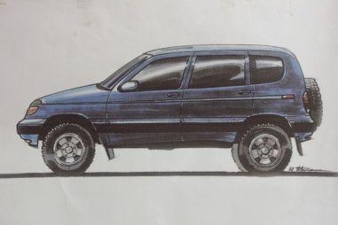 История создания Chevrolet Niva