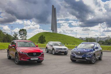 Сравнительный тест Mazda CX-5, Renault Koleos и Volkswagen Tiguan. Расчет и эмоции