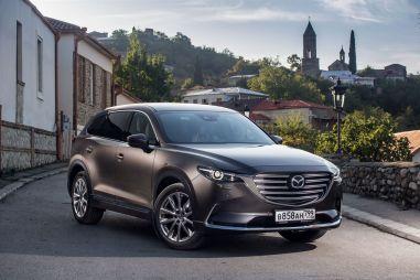 Первый тест новой Mazda CX-9. Потому что нельзя быть красивой такой!