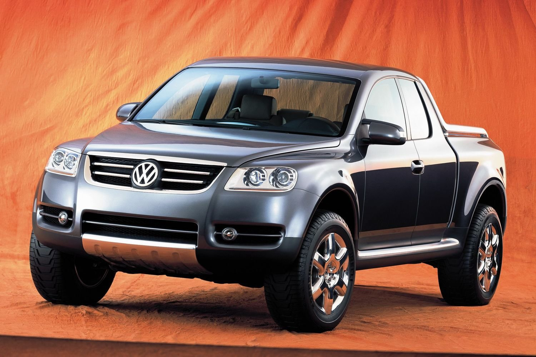 У Volkswagen появился пикап-трансформер 43