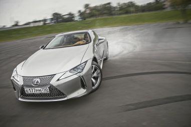 Первый тест купе Lexus LC500. Десятая ступень отошла