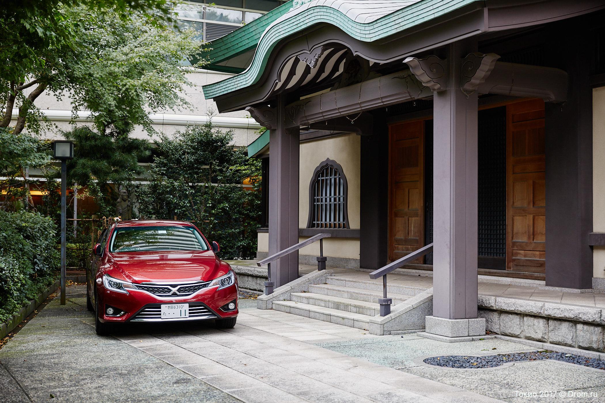 Токийский автосалон На чем ездят японцы Фотографии с улиц  toyota mark x