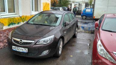 Opel Astra 2012 отзыв автора | Дата публикации 13.10.2017.