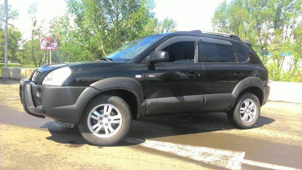 Hyundai Tucson 2007 - отзыв владельца
