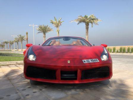 Ferrari 488 Spider 2016 - отзыв владельца