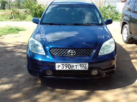 Toyota Matrix 2004 - отзыв владельца