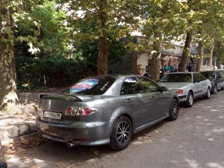Mazda Mazda6 2003 - отзыв владельца