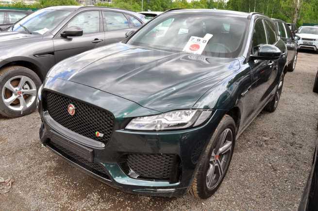 Jaguar F-Pace, 2017 год, 5 404 699 руб.
