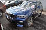 BMW X3. ТЕМНО-СИНИЙ, МЕТАЛЛИК (A76)
