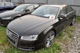 Audi A8. ЧЕРНЫЙ, МЕТАЛЛИК (HAVANNA BLACK) (4J4J)