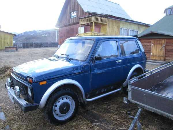 Лада 4x4 2121 Нива, 2001 год, 60 000 руб.